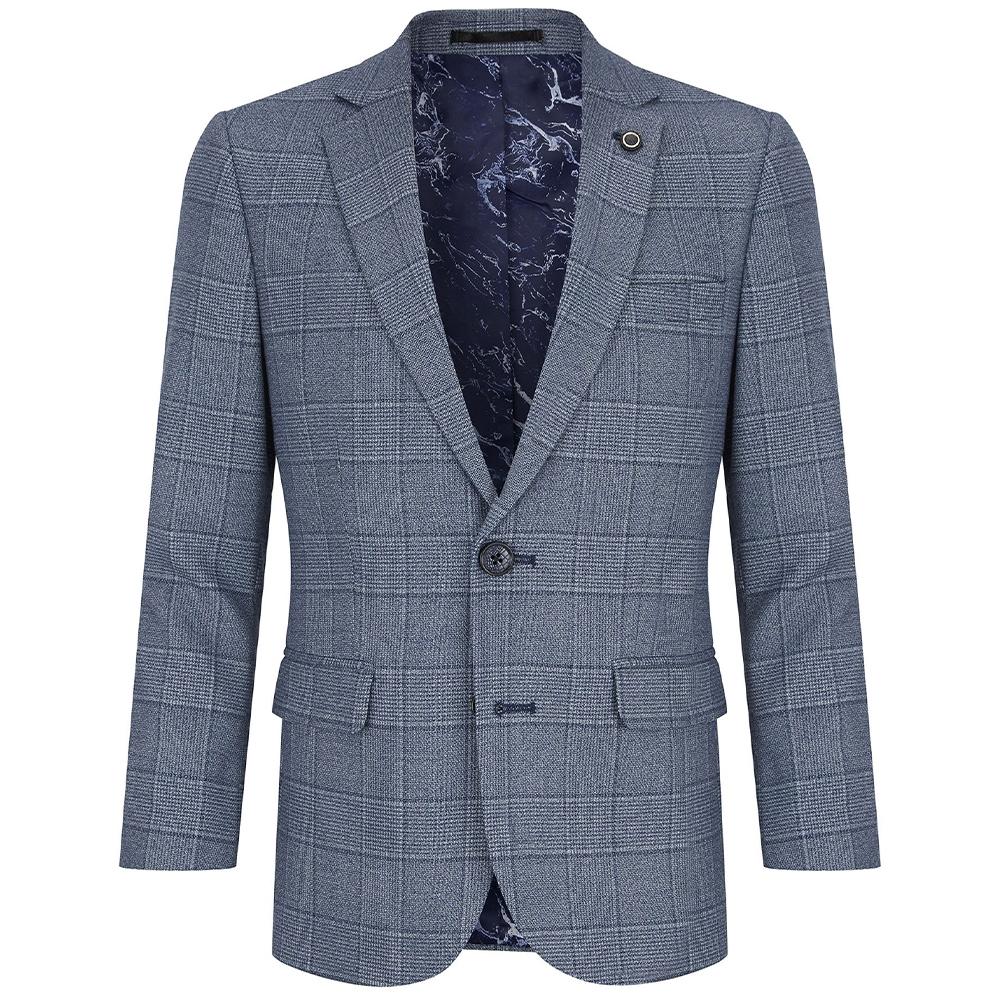Boys Genaro Suit in Lt Blue