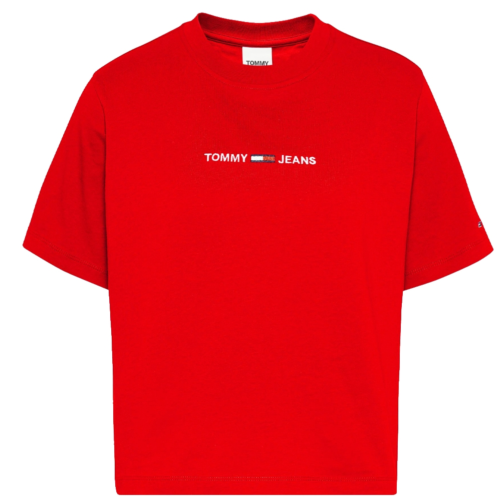 Linear Logo T-Shirt in Red