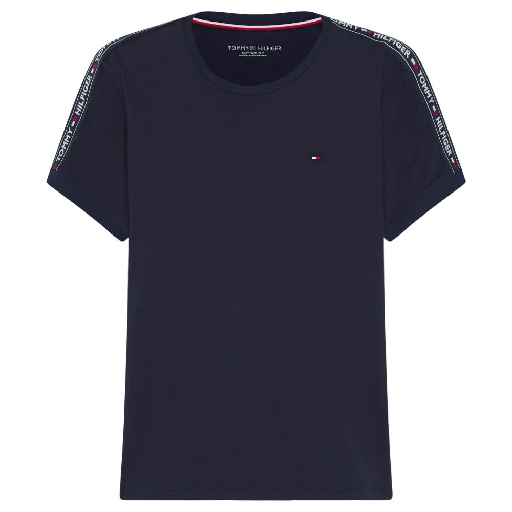 Round Neck T-Shirt in Navy