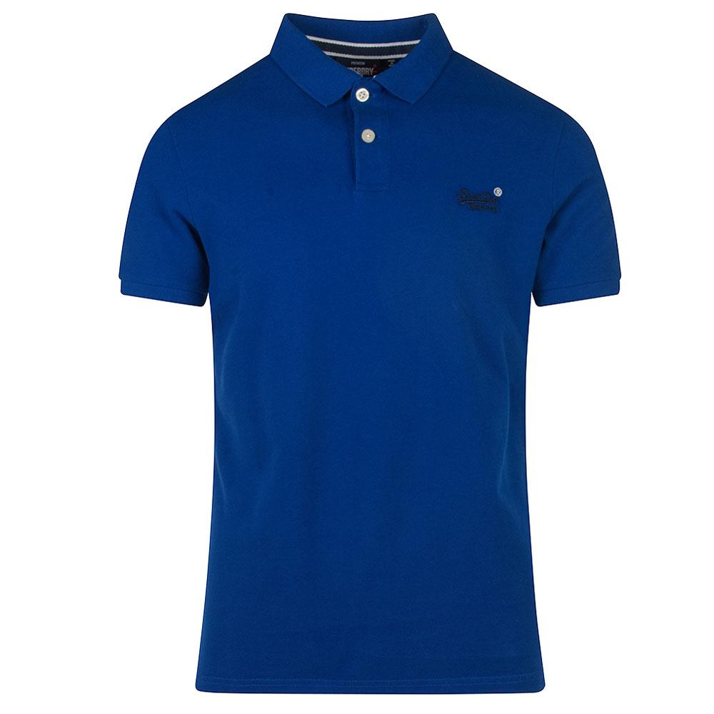 Classic Pique Polo Shirt in Royal