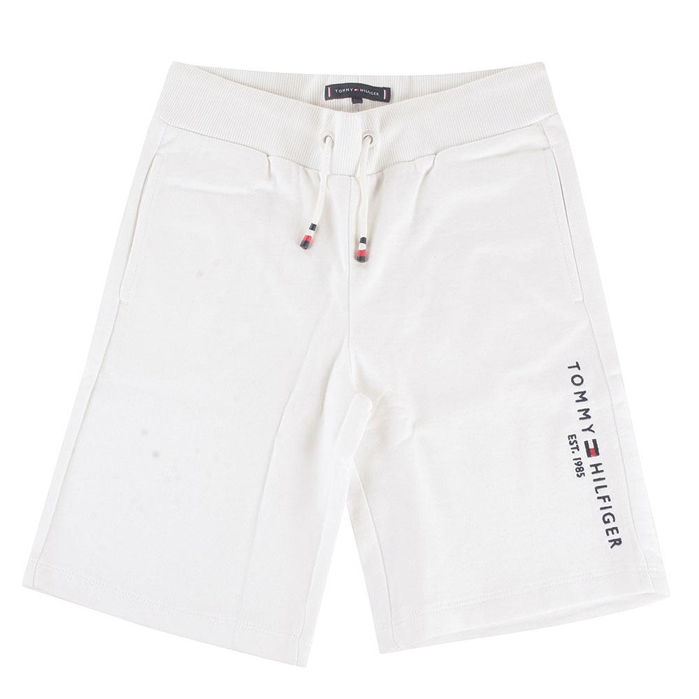 Essential Kids Sweatshorts in White