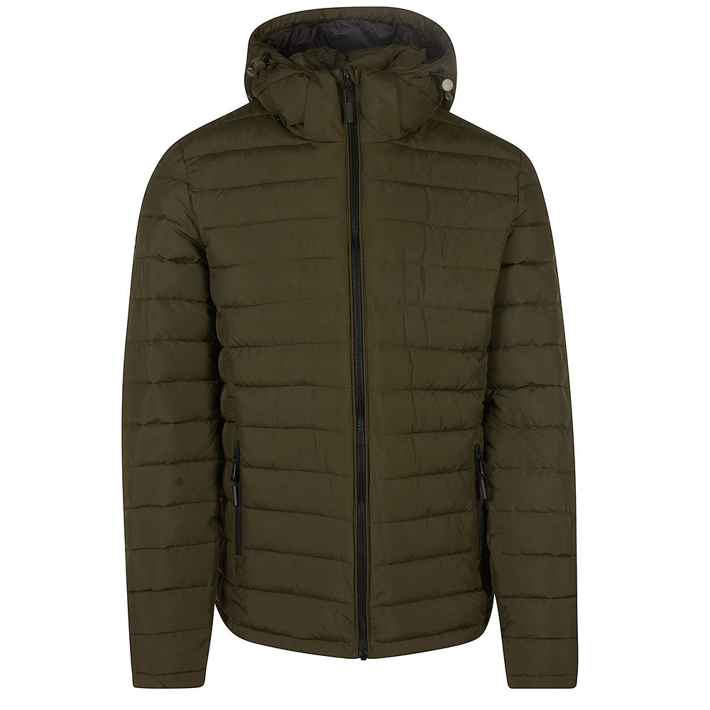 Fuji Hooded Jacket in Green