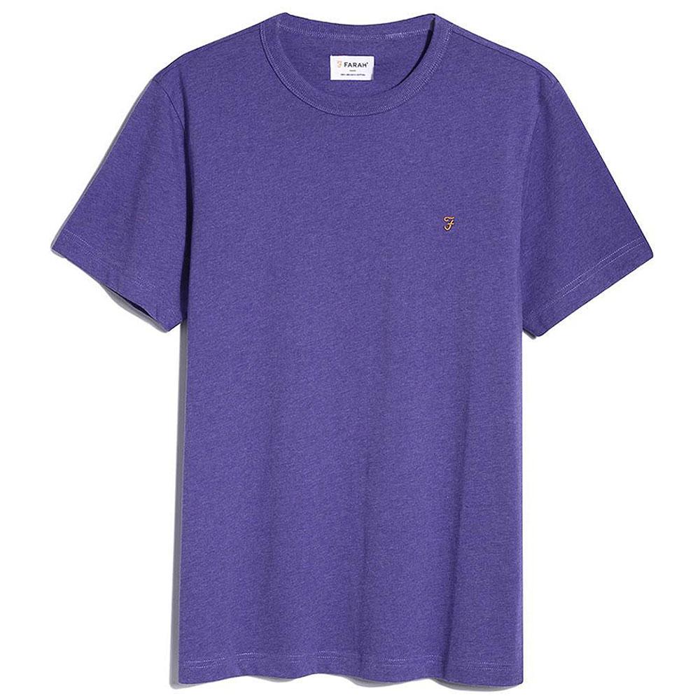 Danny SS T-Shirt in Purple