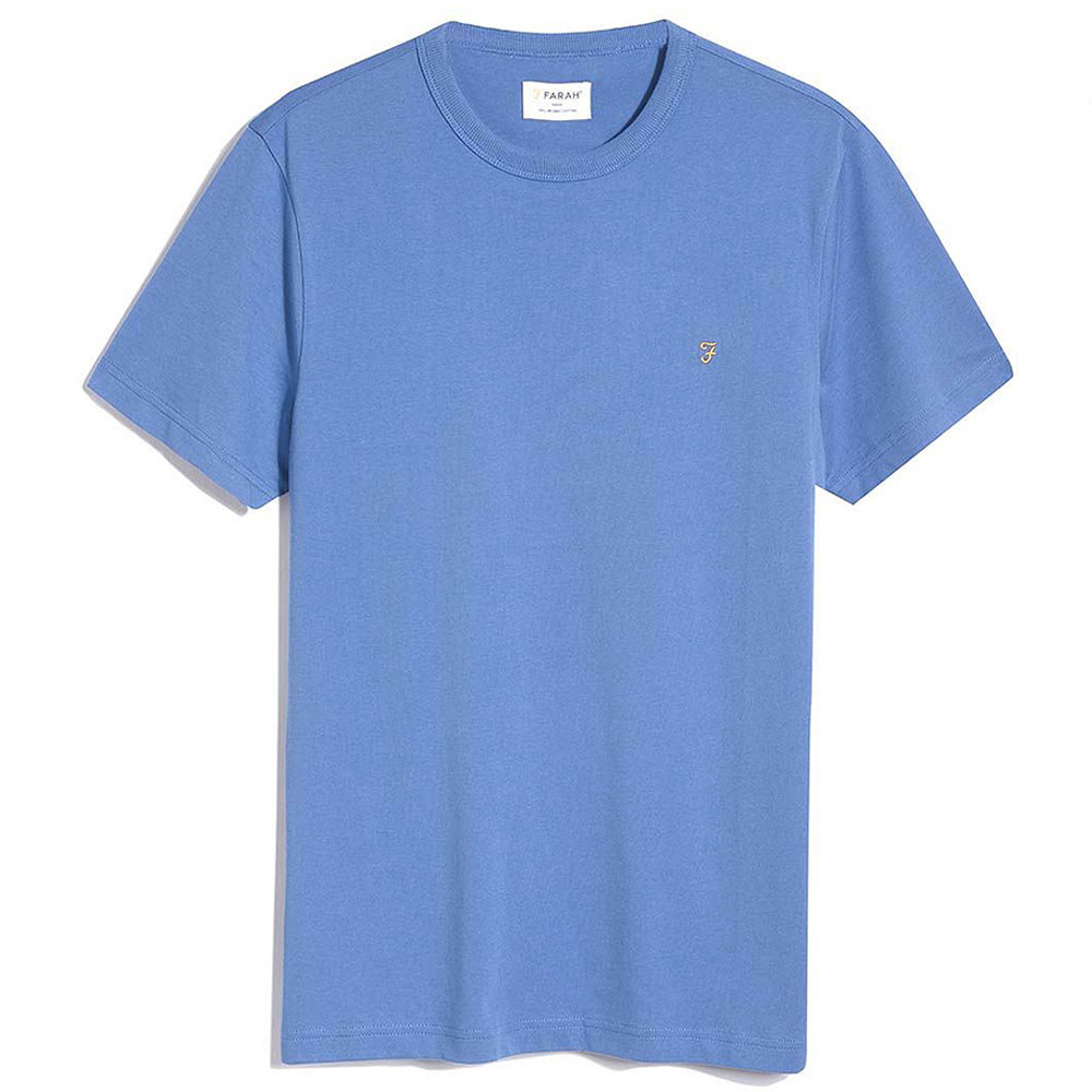 Danny SS T-Shirt in Slate Blue