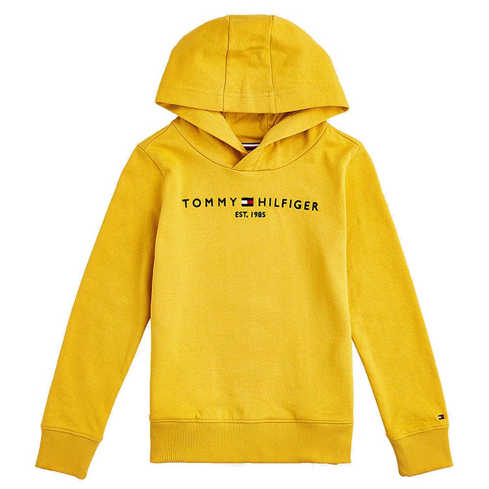 Kids Essential Hoodie in Yellow