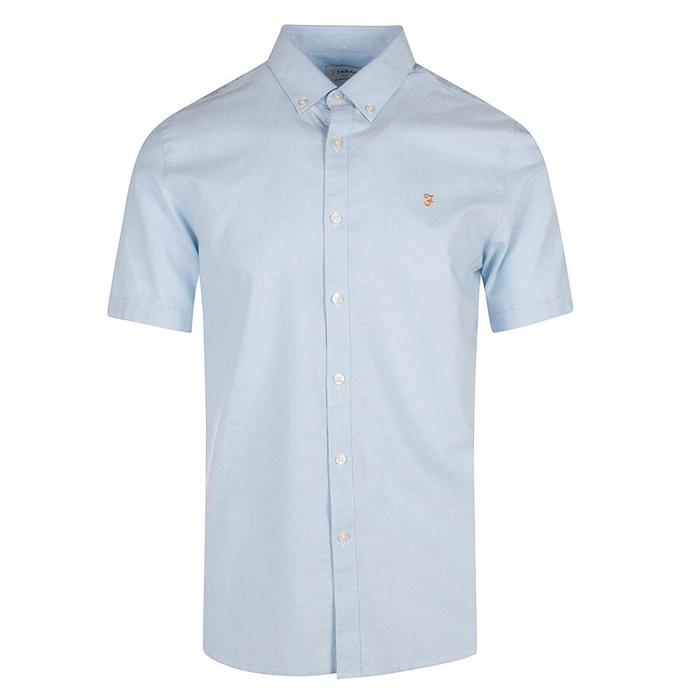 Brewer Short Sleeve Shirt in Blue