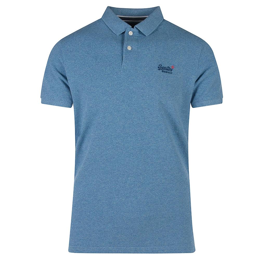 Pique Poloshirt in Blue