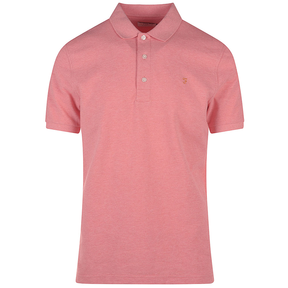 Blanes SS Polo Shirt in Pink