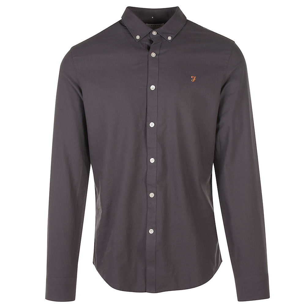 Brewer Shirt in Grey