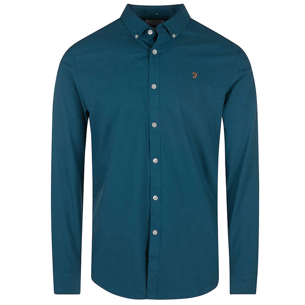 Brewer Shirt in Turquoise