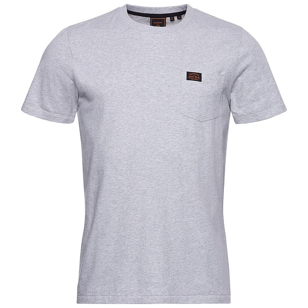 Workwear Pocket T-Shirt in Grey