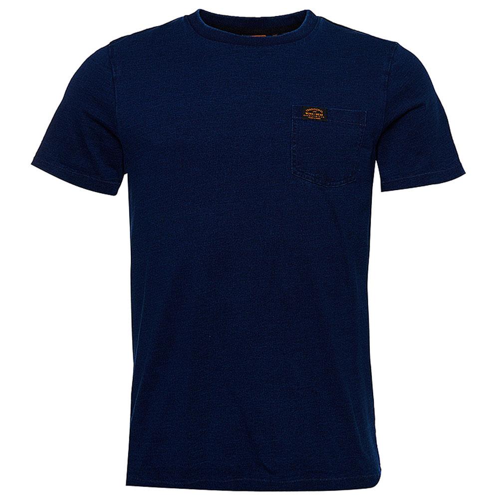 Workwear Pocket T-Shirt in Indigo