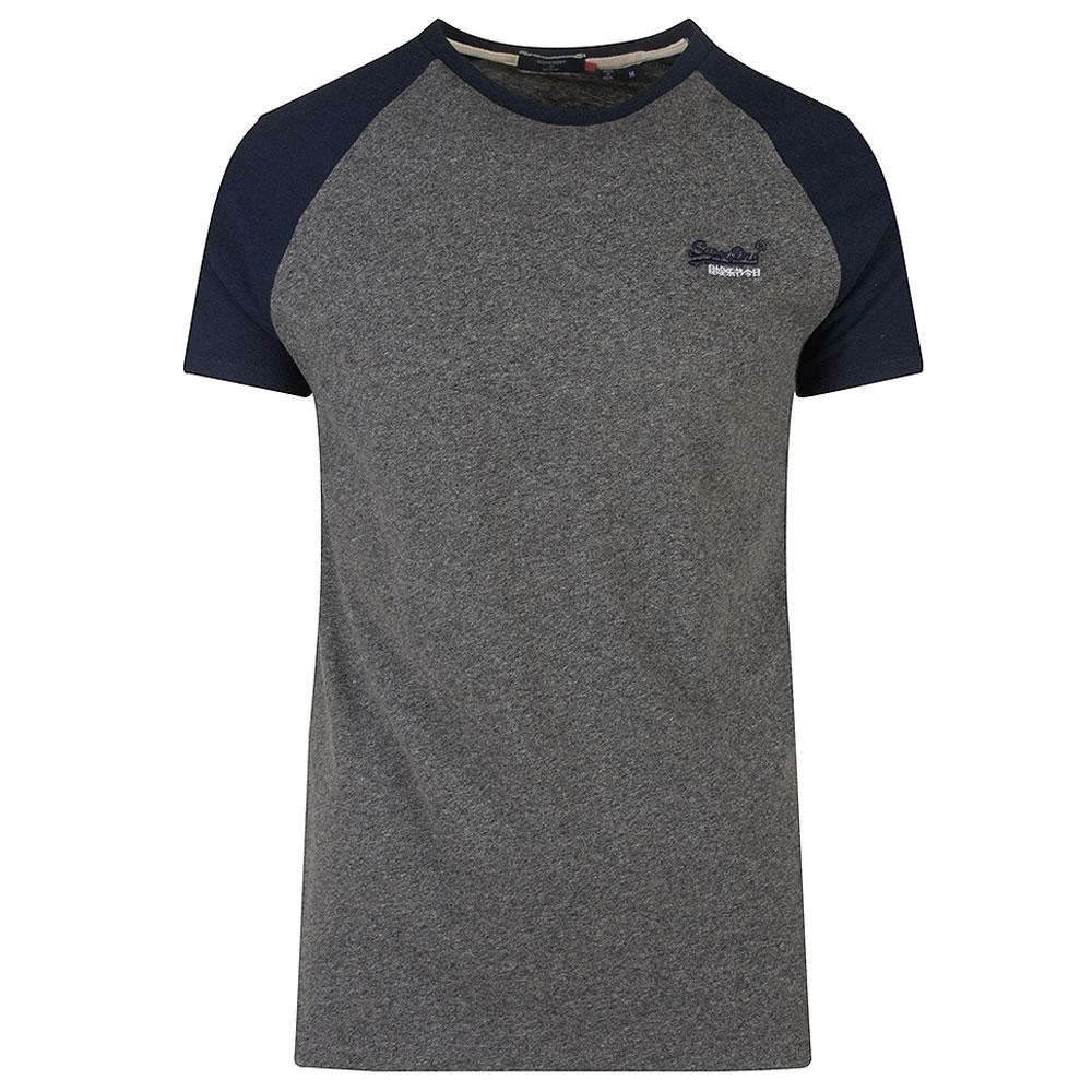 Baseball T-shirt in Black