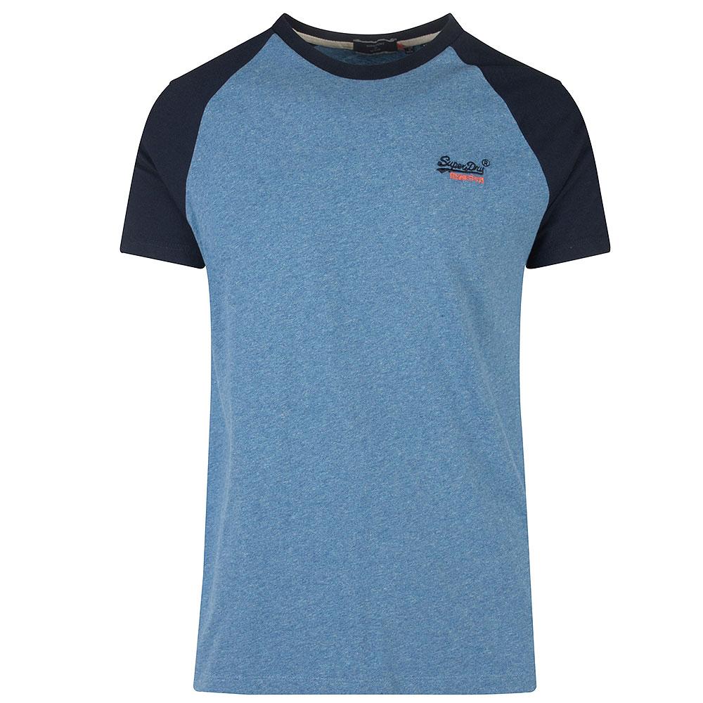 Baseball T-shirt in Blue