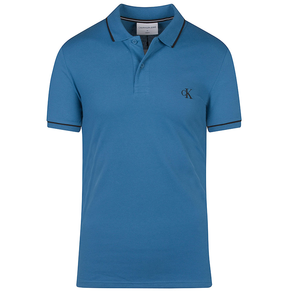 Tipping Polo Shirt in Royal