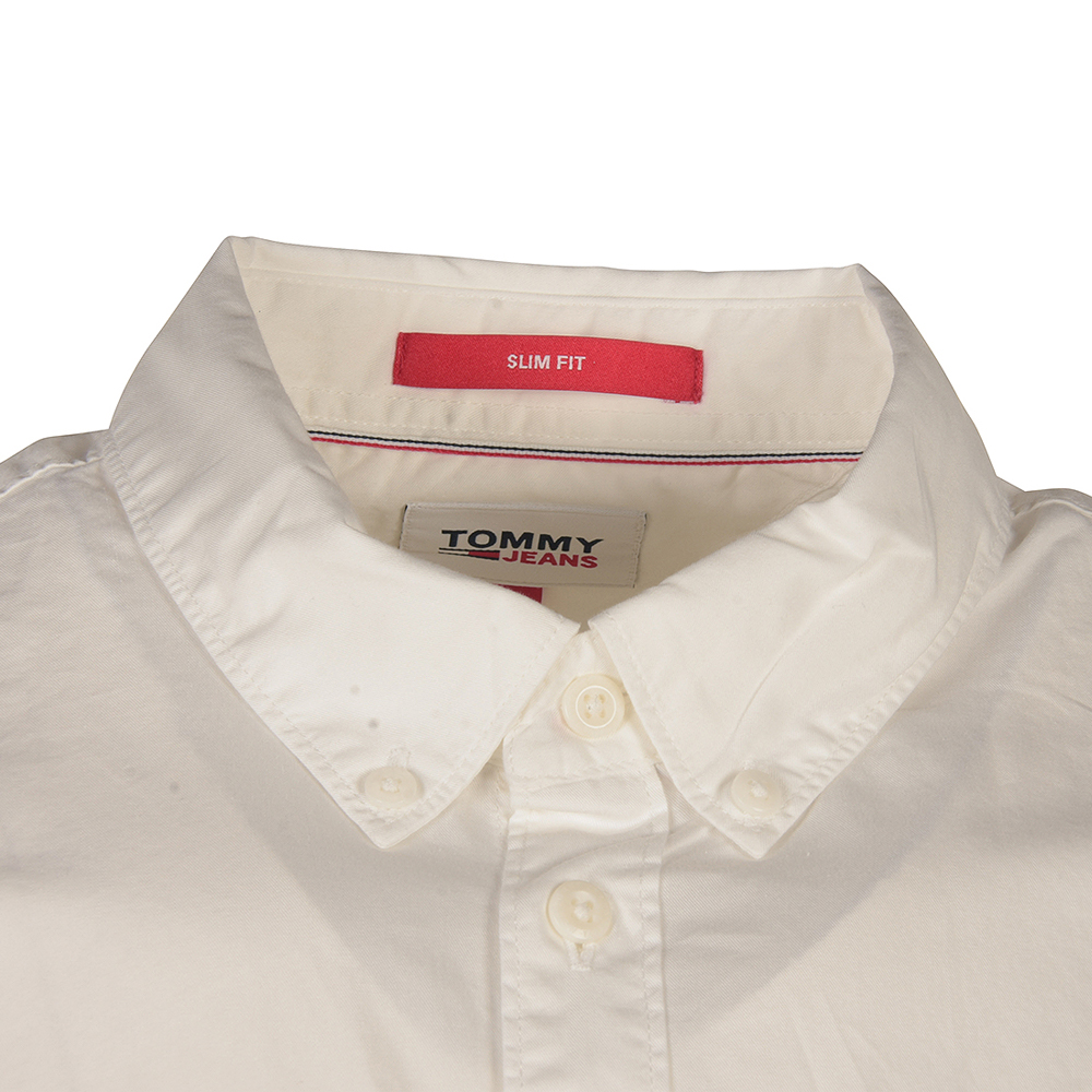 Twil Short Sleeve Shirt in White