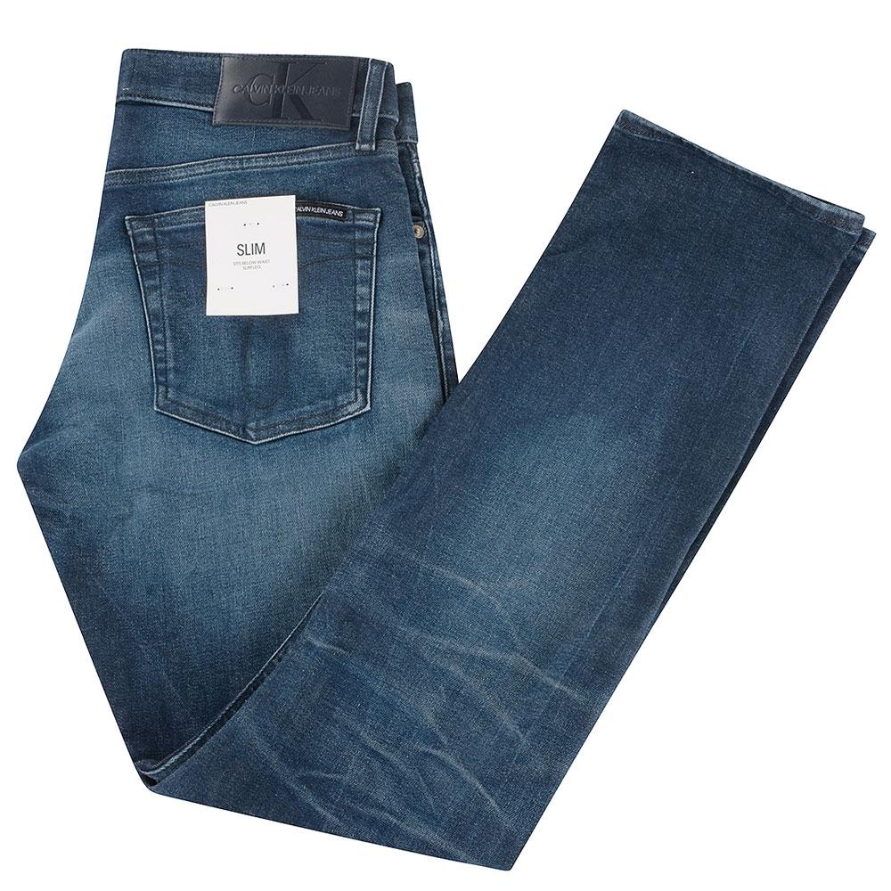 CK Slim Jean in Blue