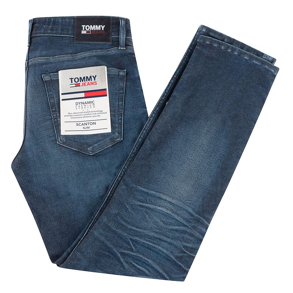 Scanton Slim Fit Jeans in Indigo