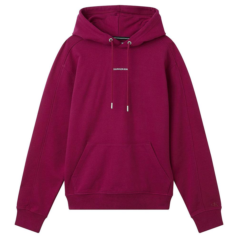 Micro Branding Hoodie in Purple