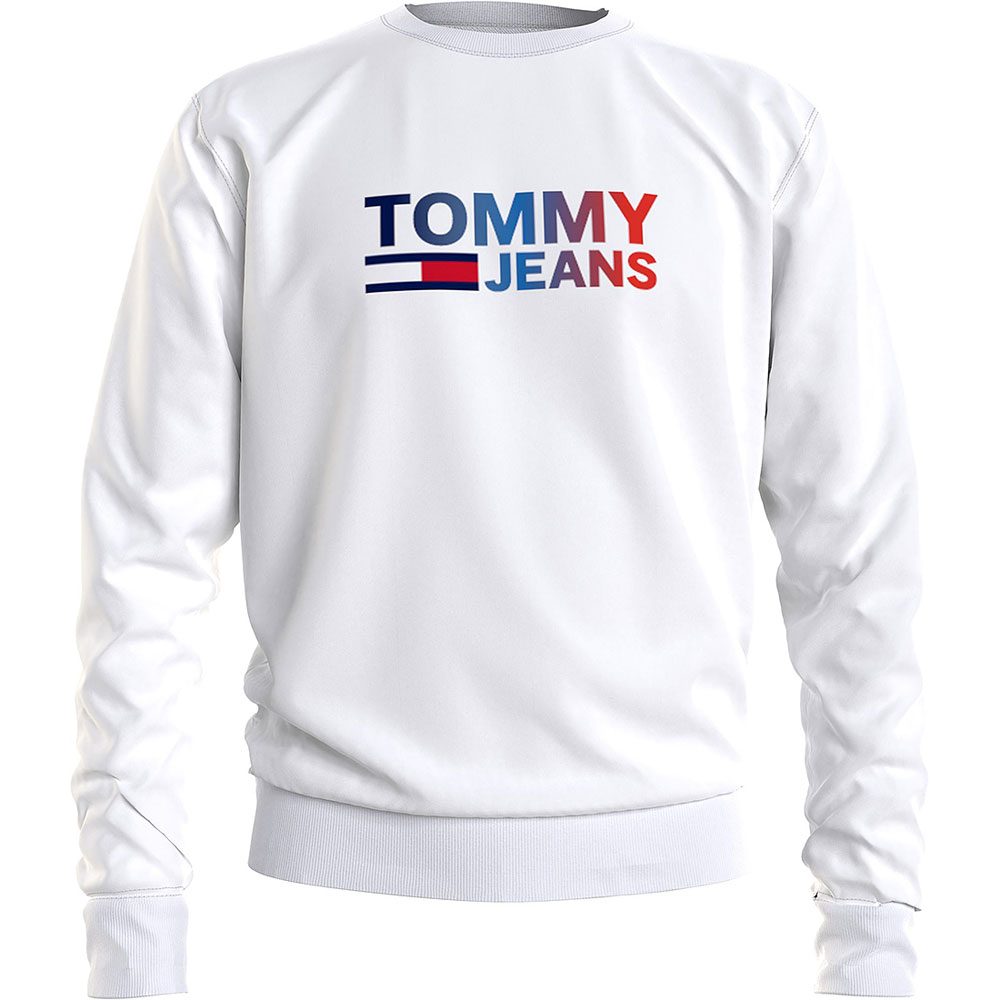 Ombre Sweatshirt in White