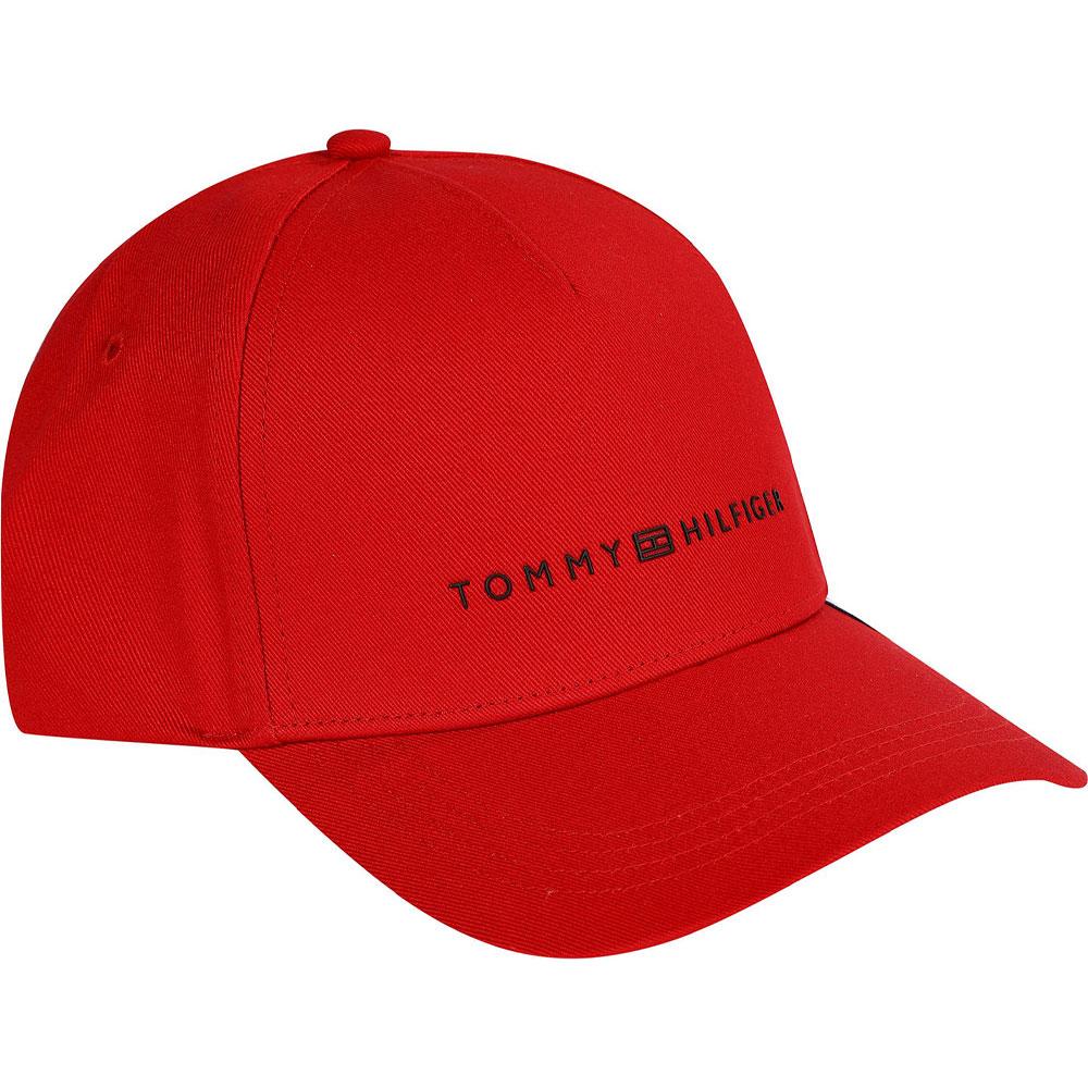 Baseball Cap in Red