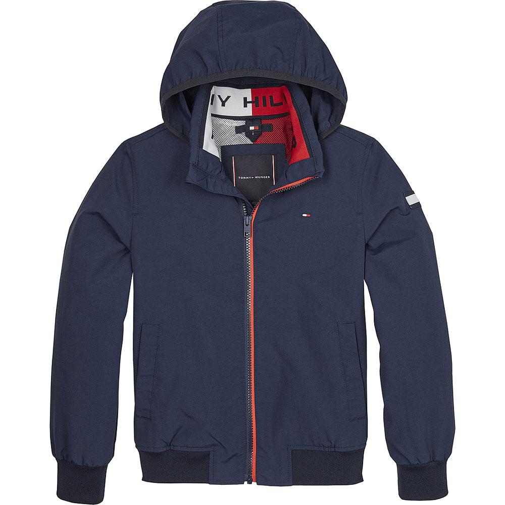 Kids Essential Jacket in Navy