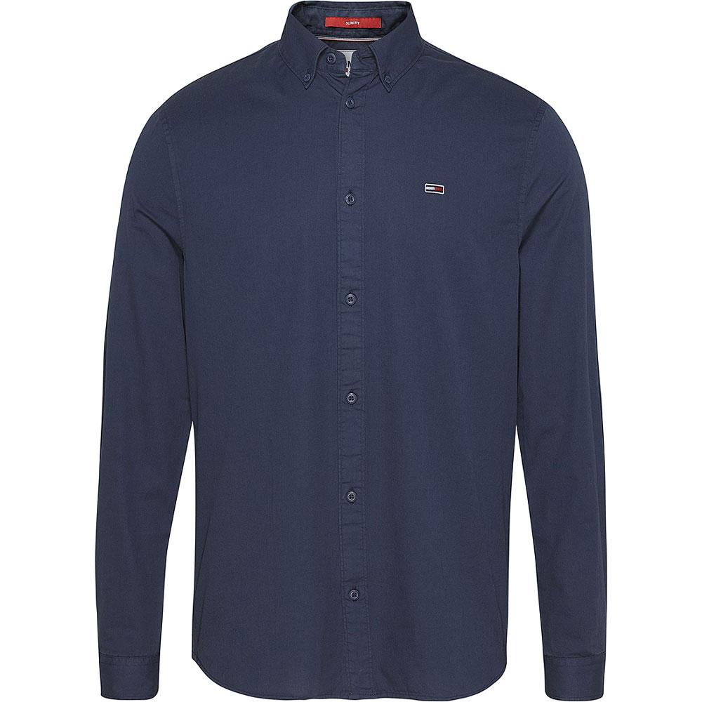 Lightweight Twil Shirt in Navy