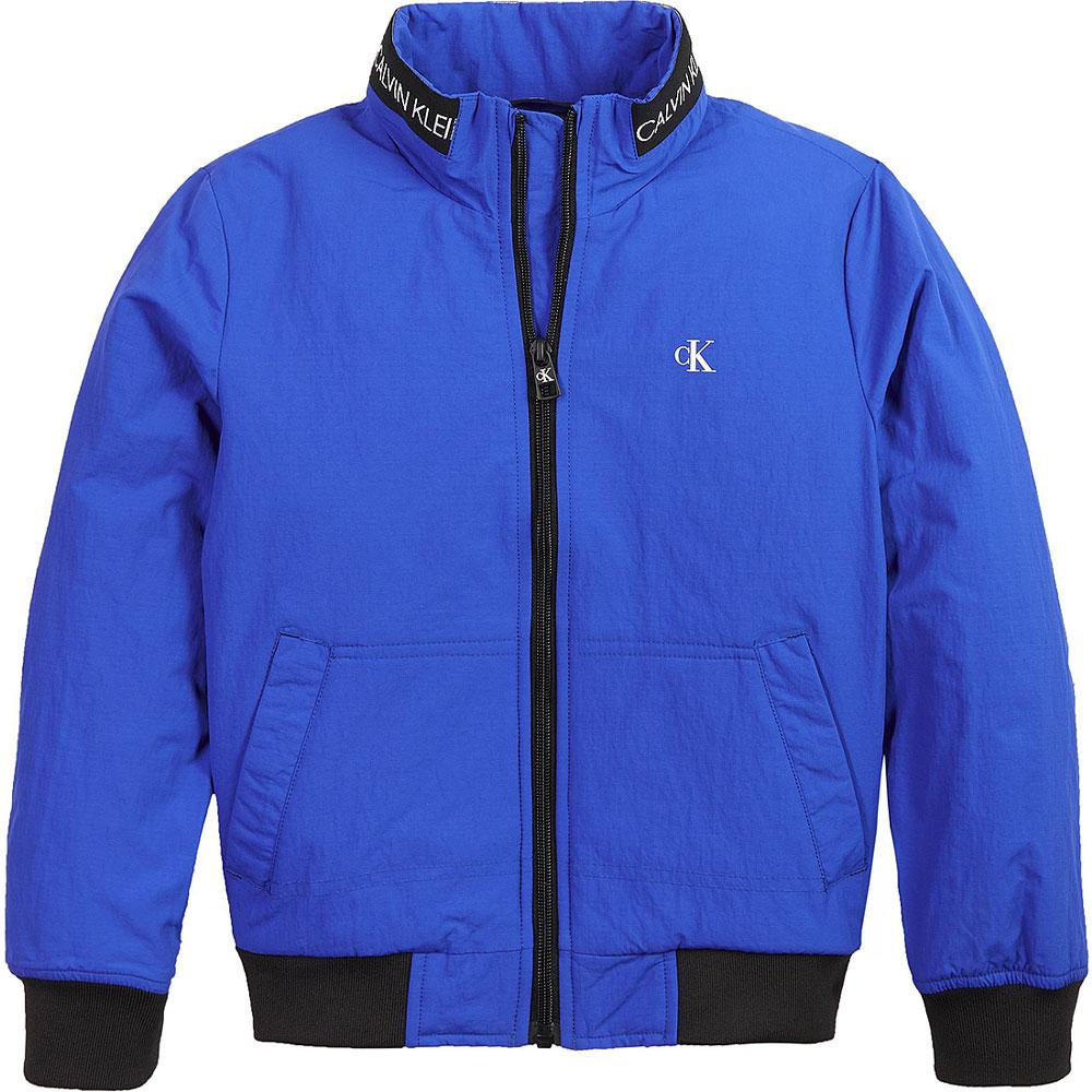 Light Bomber Jacket in Blue