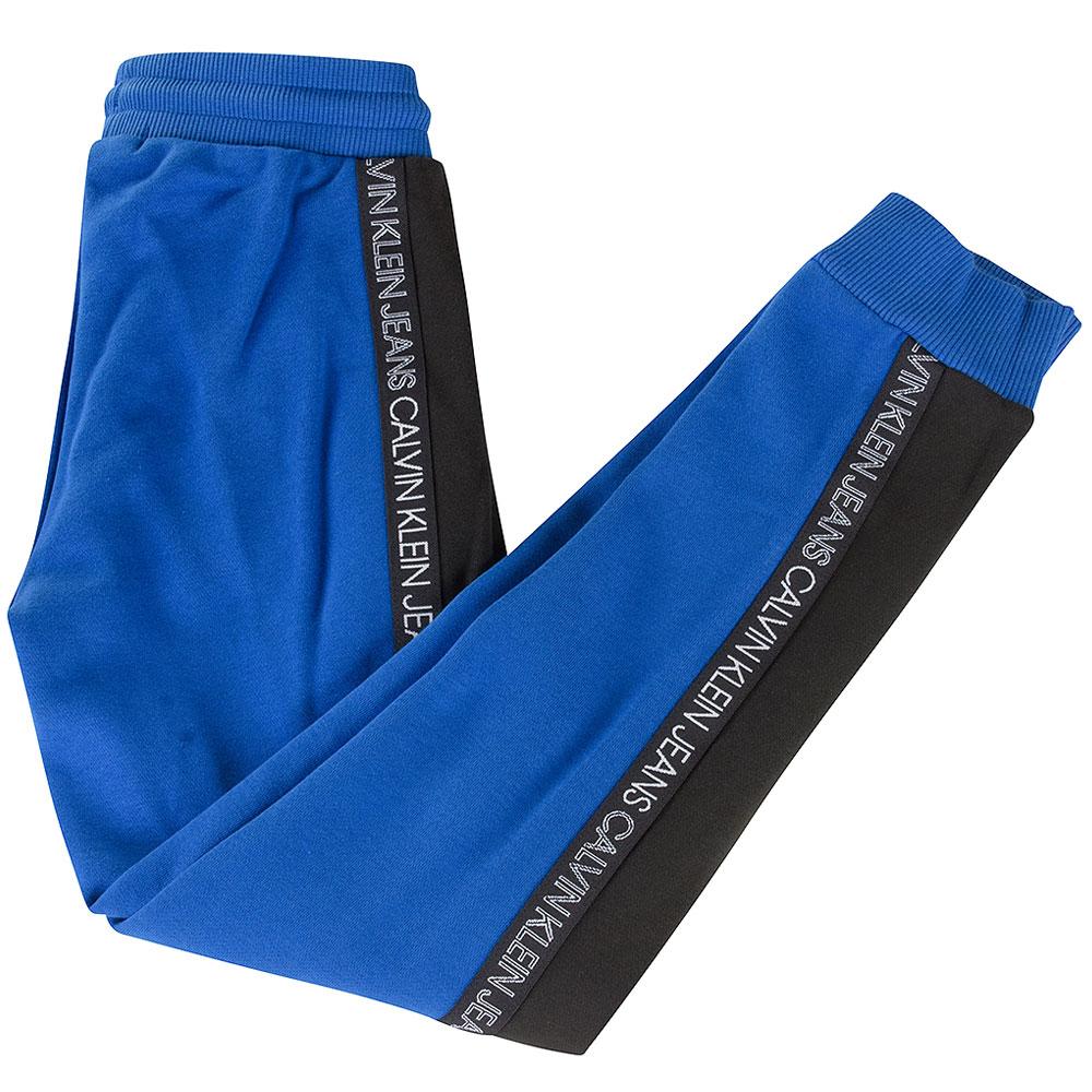 Colour Block Sweatpants in Blue