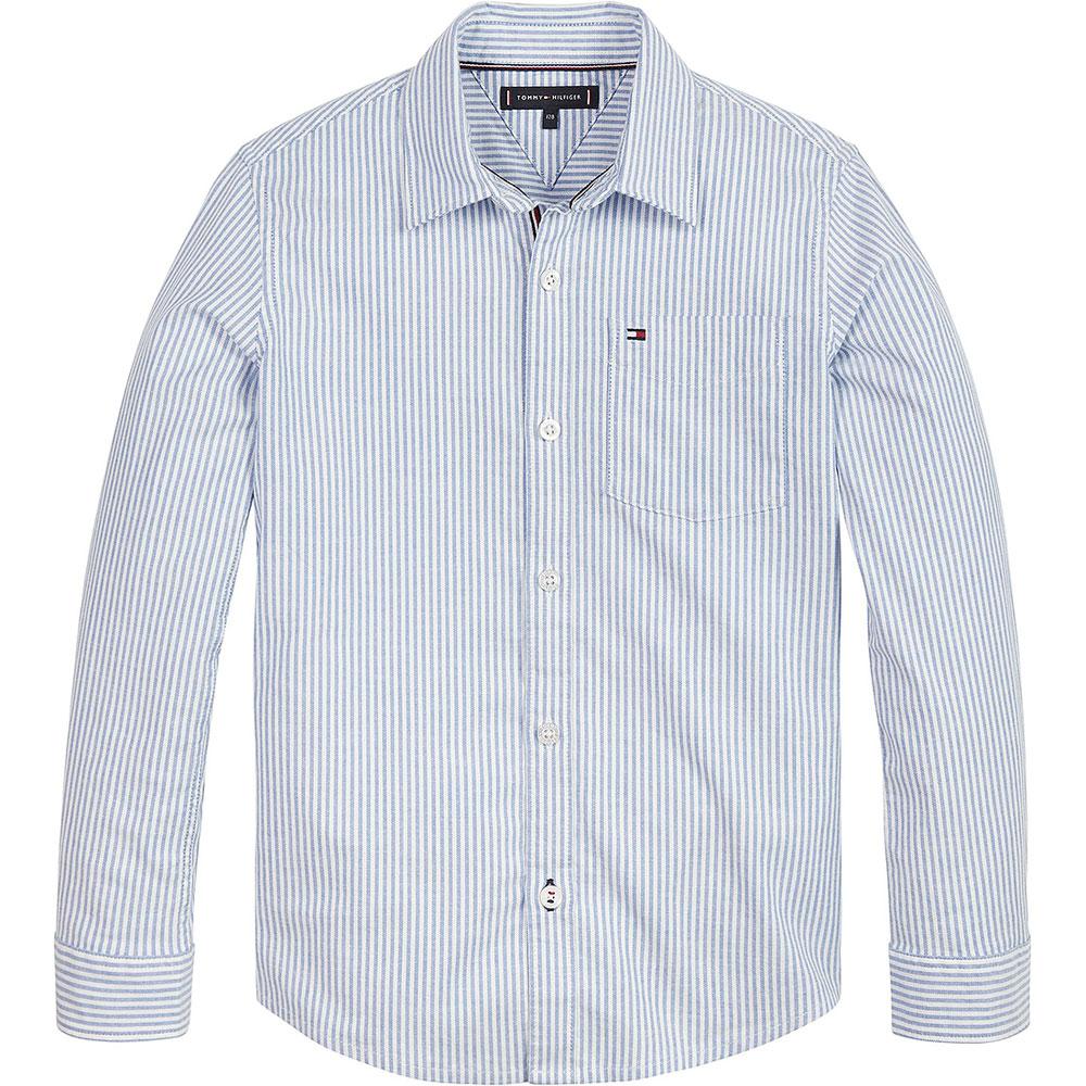Ithaca Stripe Kids Shirt in Blue