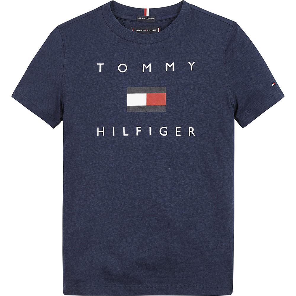 Hilfiger Logo T-Shirt in Navy