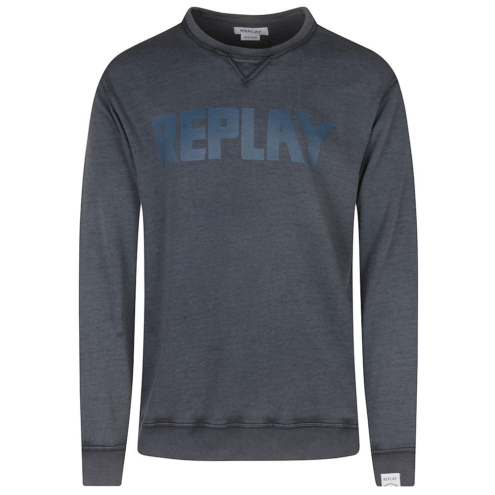 Replay Sweatshirt in Navy