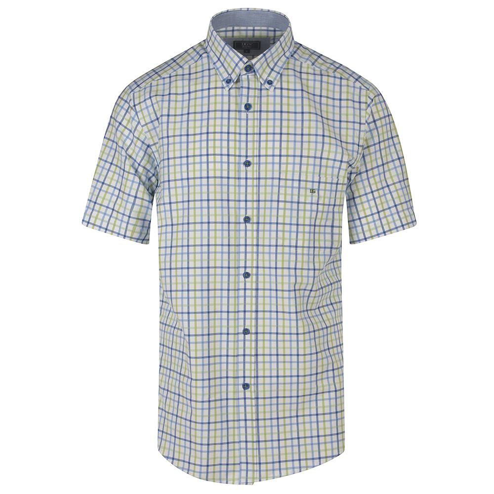 Ivano Half Sleeve Shirt in Green