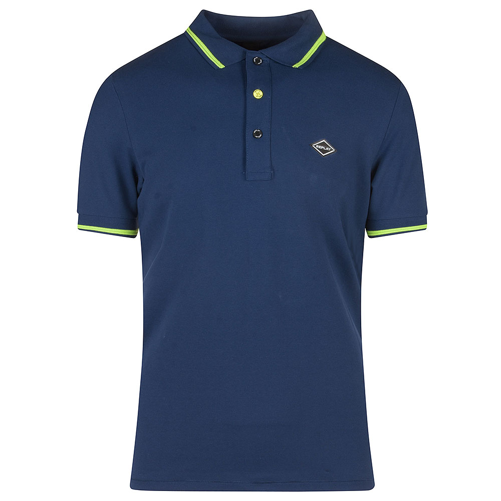 Replay Polo in Blue