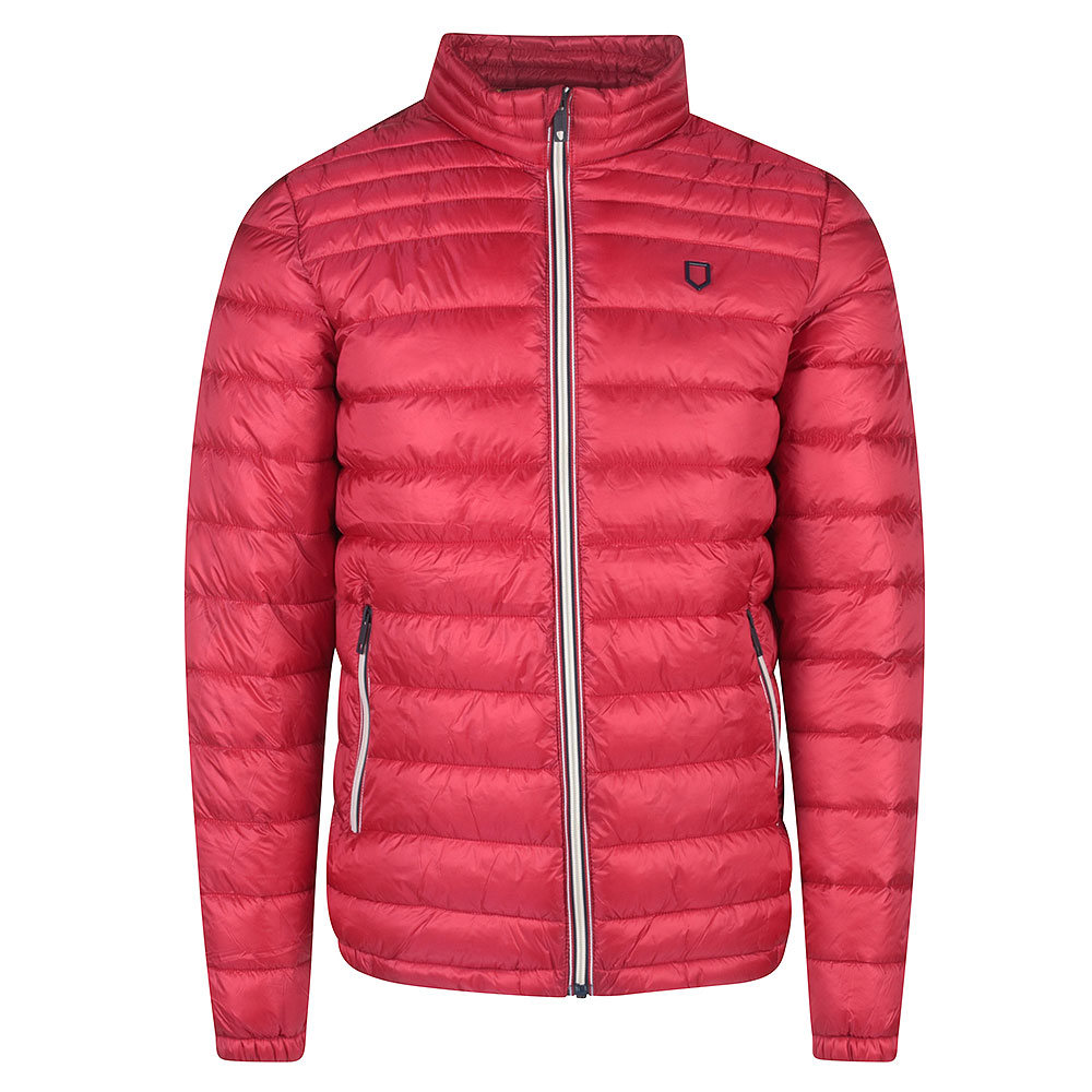 Instonians Puffa Jacket in Red