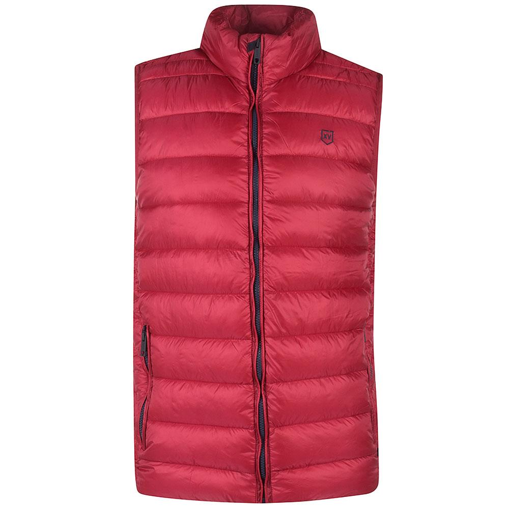 Monkstown Gilet in Red