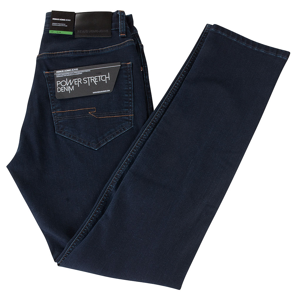Apollo Slim Fit Jeans in Indigo