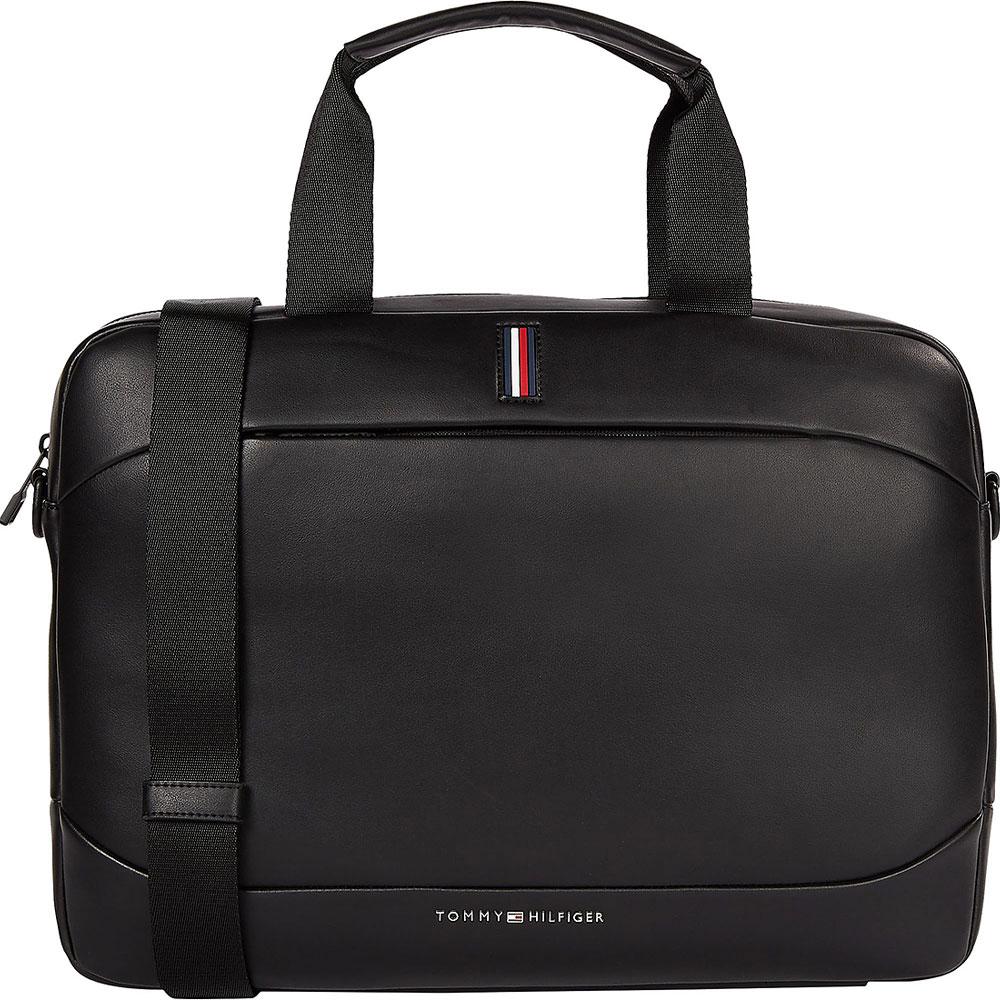 Metro Slim Computer Bag in Black