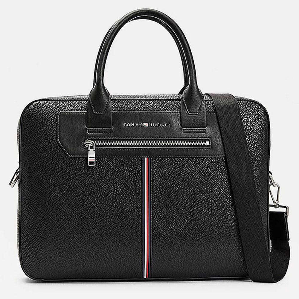 Downtown Slim Holdall Bag in Black