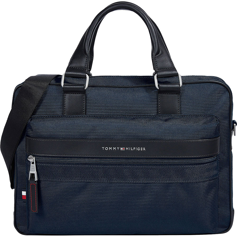 Elevated Computer Bag in Navy