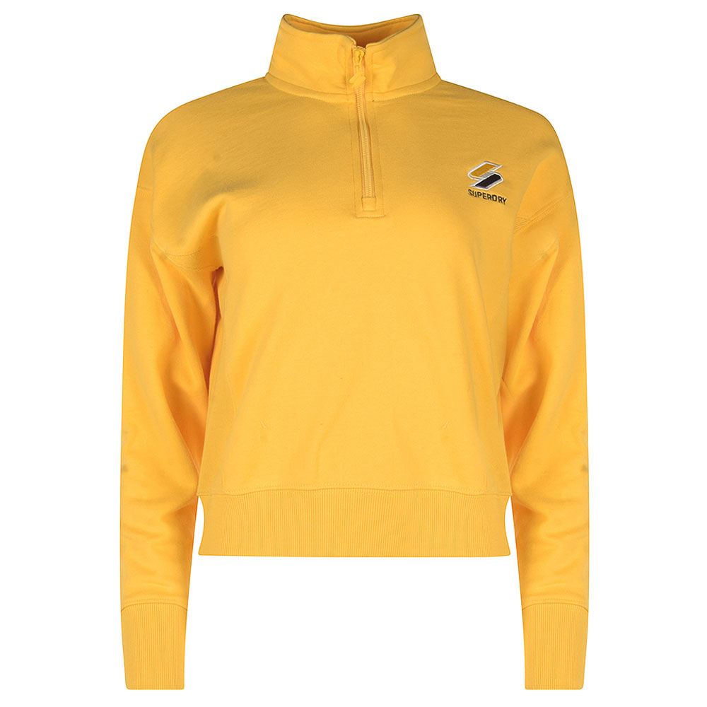 Sports Style 1/4 Zip in Yellow