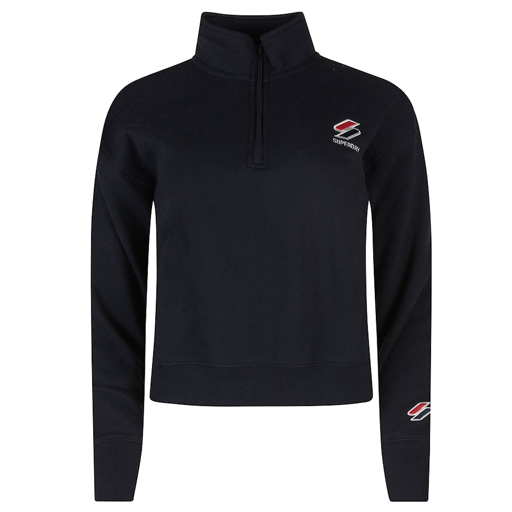 Sports Style 1/4 Zip in Navy