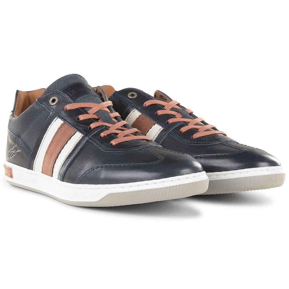 Roux Shoe in Navy