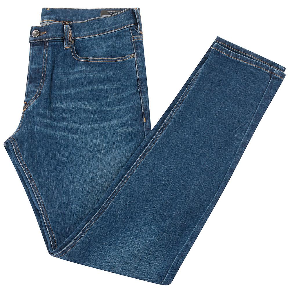D-Luster Slim Jean in Stonewash