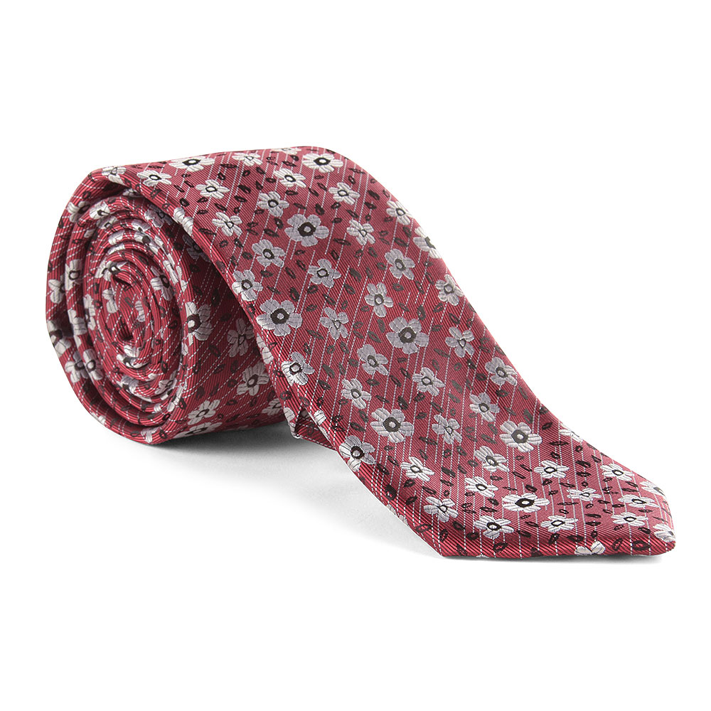 Tie and Pocket Square in Red