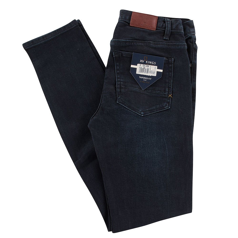 Eagles Tapered Jeans in Indigo