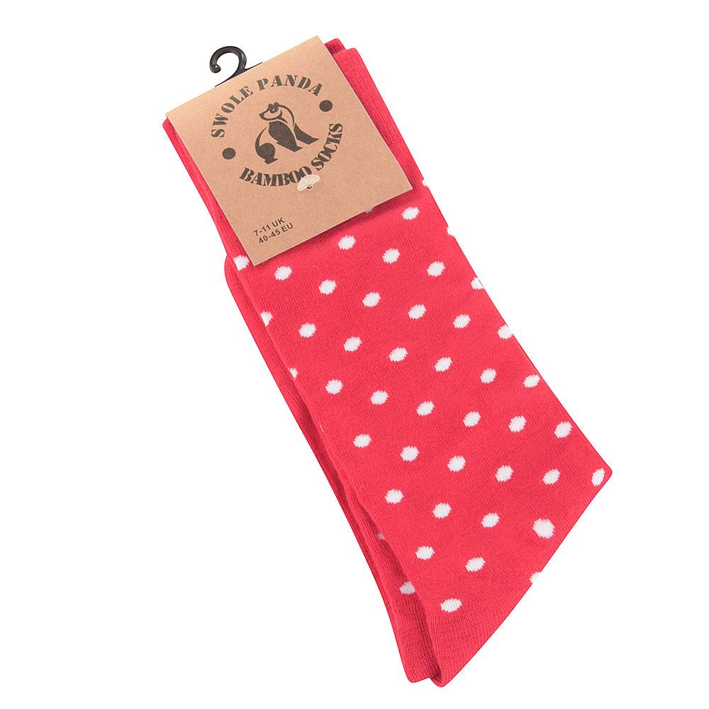 Dot Socks in Red