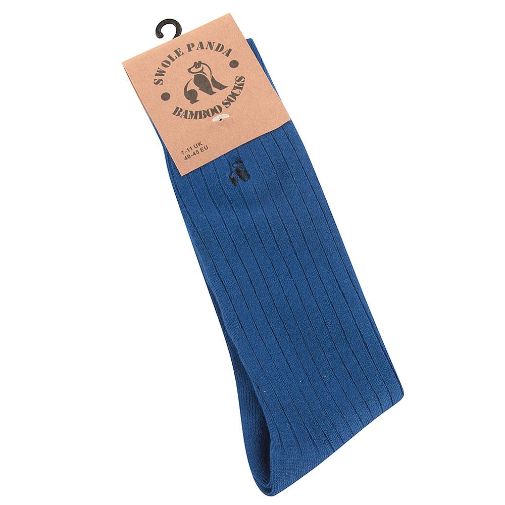 Ribbed Sock in Royal