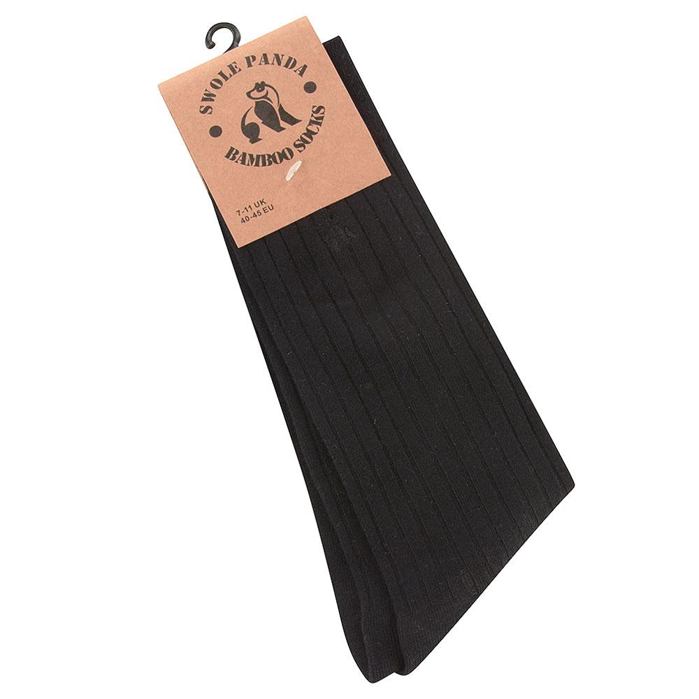 Ribbed Socks in Black