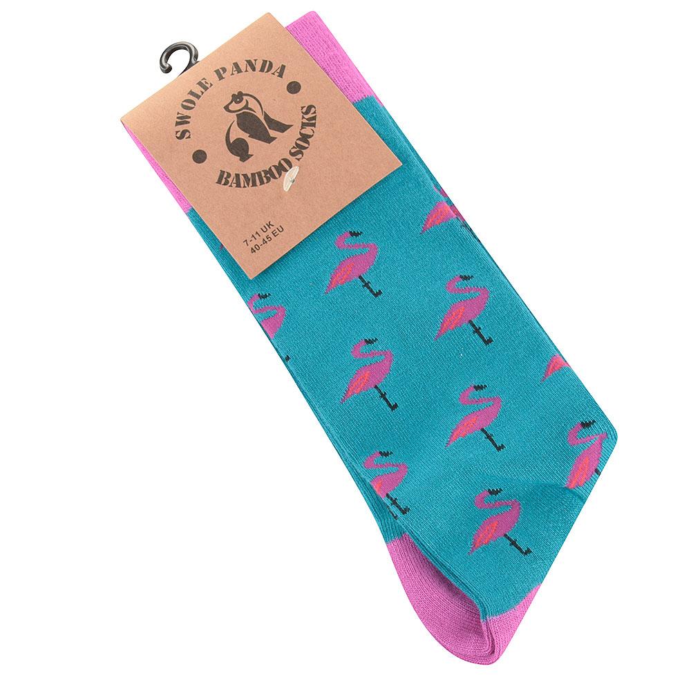 Flamingo Socks in Pink